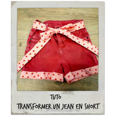 Tuto - Comment transformer un jean en short