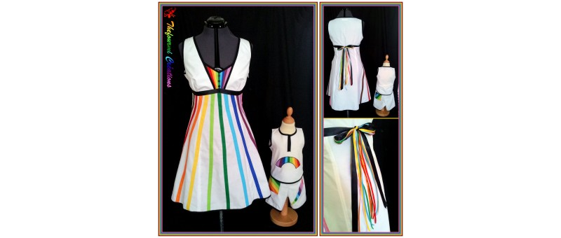 Ensemble Rainbow Dress